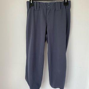 Gray Softball Pants